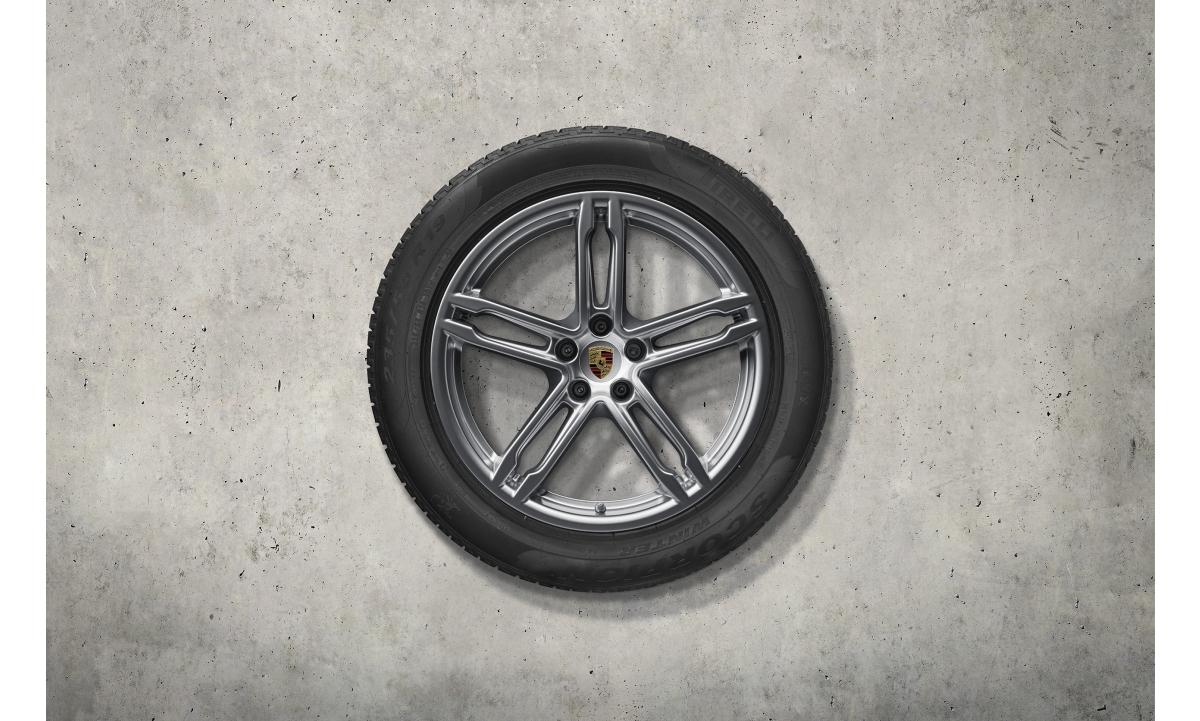 "TALVERATTAD 19"" MACAN III MACAN DESIGN lamell Pirelli Scorpion Winter 235/55 R19, 255/50 R19"