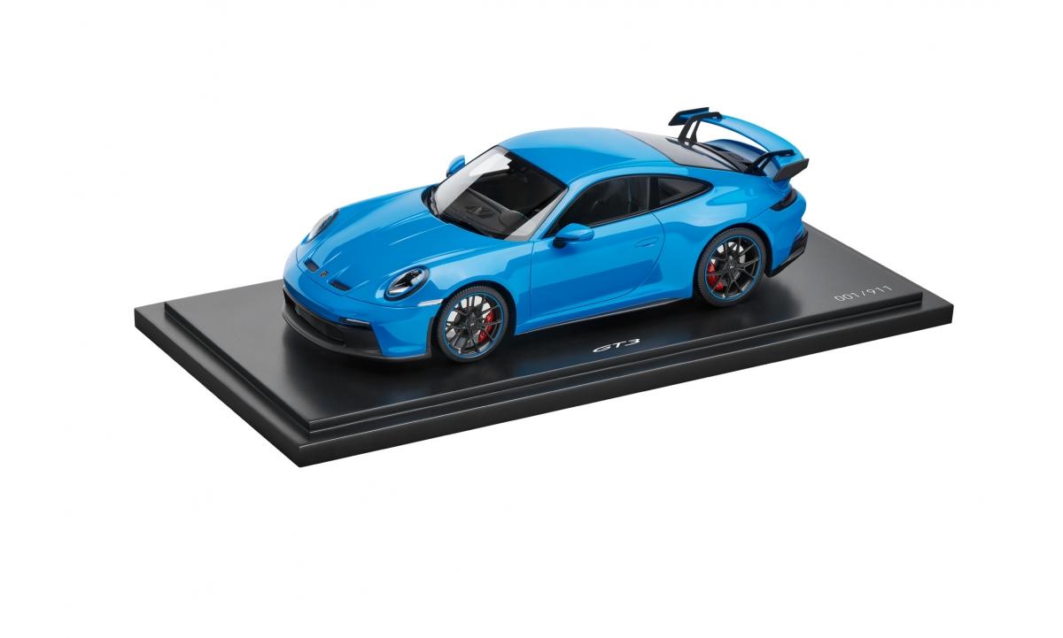 MUDELAUTO 911 GT3, sinine, 1:43