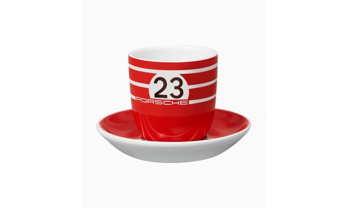 ESPRESSOTASSIDE kmpl, 917 SALZBURG COLLECTION, punane/must/valge