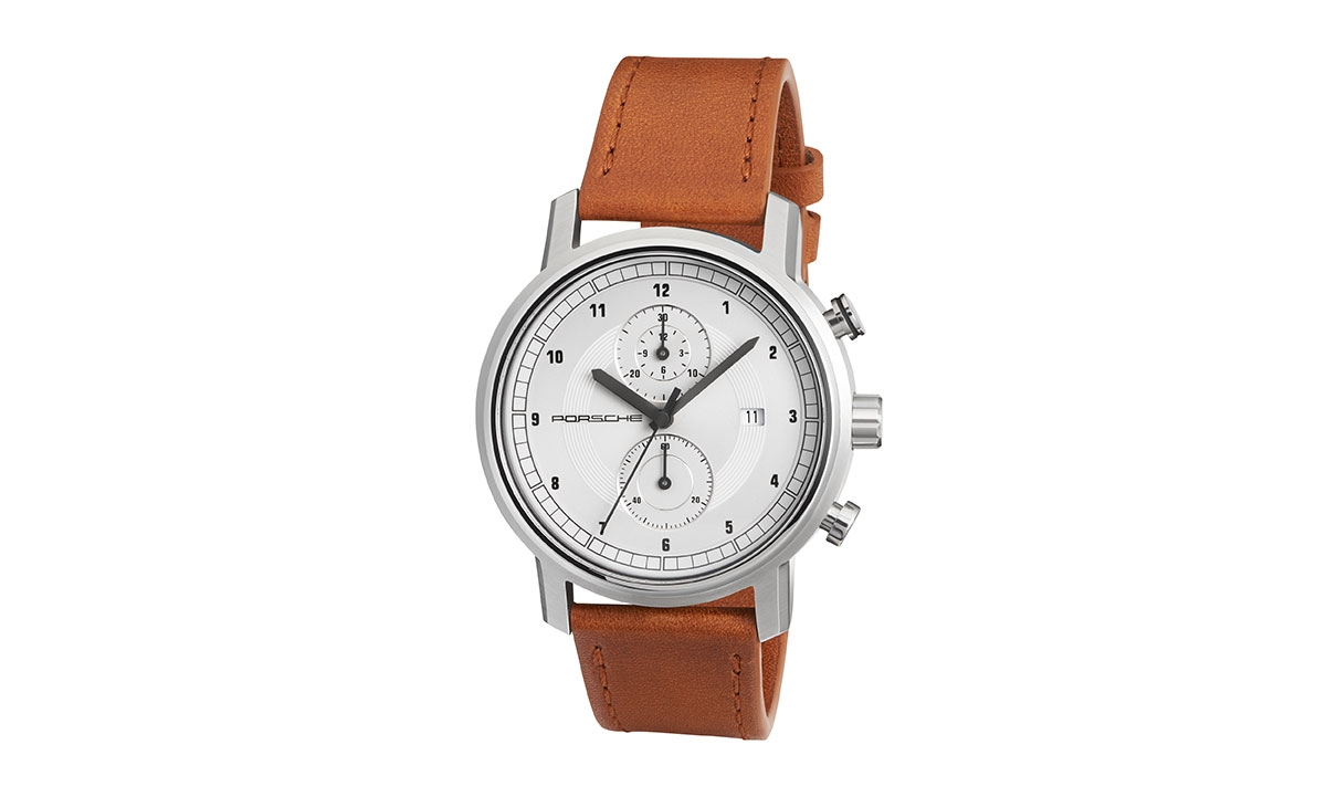 KÄEKELL CLASSIC COLLECTION Chronograph, Limited Edition, hõbe/konjak/hall