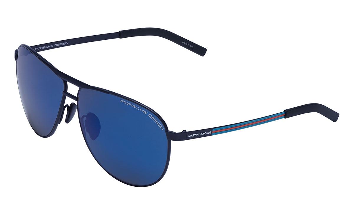 PÄIKESEPRILLID MARTINI RACING P8642 Suurus 62 sinine/peegelklaas
