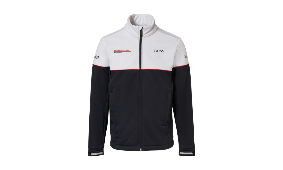 JOPE MOTORSPORT COLLECTION, softshell, must/valge, meeste,