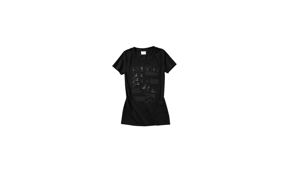 T-SÄRK must logoga naiste