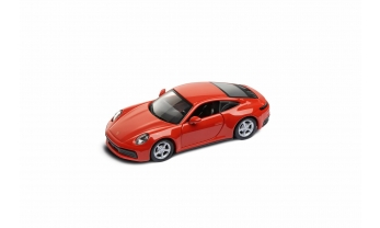 MUDELAUTO 911 CARRERA 4S COUPE, lava orange, 1:43