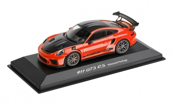MUDELAUTO 911 GT3 RS 1:43, Limited Edition, Lavaorange