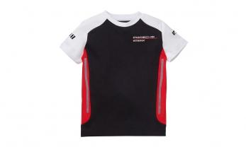 T-SÄRK MOTORSPORT, laste, must/punane/valge suurus