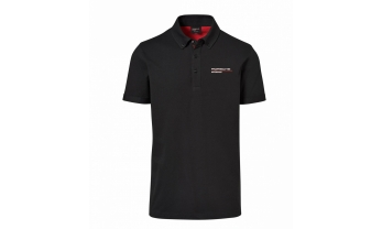 POLOSÄRK MOTORSPORT FANWEAR COLLECTION, must, meeste,