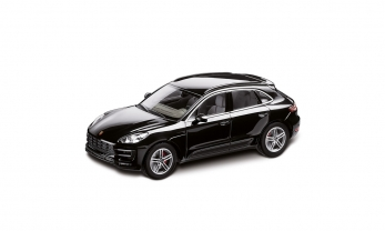 MACAN TURBO MUDEL 1:43 black met.,agate grey/pepple grey