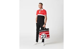 POLOSÄRK 917 SALZBURG COLLECTION, punane/must/valge, meeste,