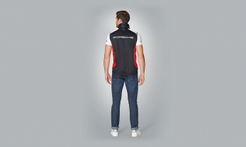 Motor Sports CollecVEST MOTORSPORT unisex, must/punen/valge,